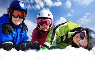 english ski lessons for kids children french alps megeve france