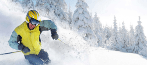 english ski lessons in january french alps megeve