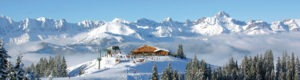Megeve ski resort mont blanc french alps