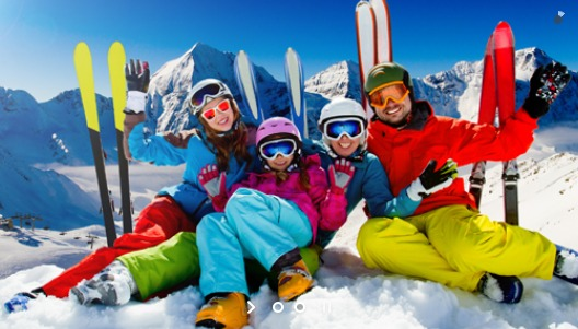 Ski lessons in english Megeve French Alps 2