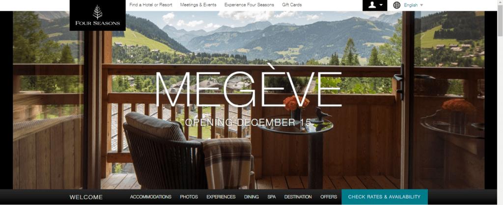 Four Season Hotel Megeve