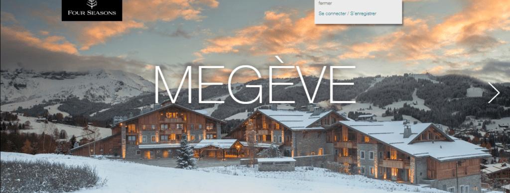 Hotel luxury resort megeve french alps fluent english ski instructor